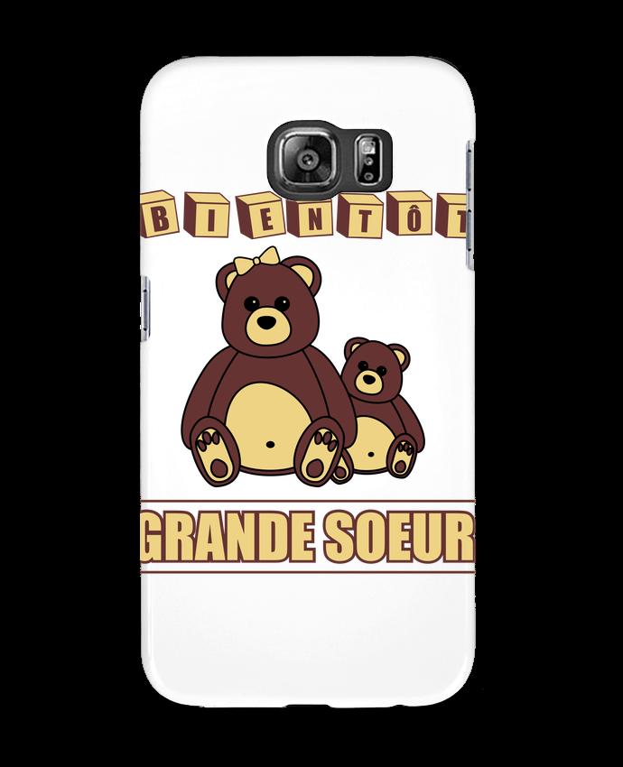Coque 3D Samsung Galaxy S6 Bientôt Grande Soeur - Benichan