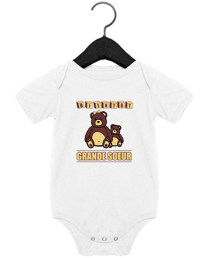Body Bébé Bientôt Grande Soeur par Benichan