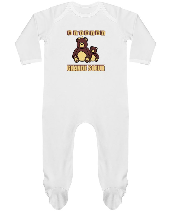 Body Pyjama Bébé Bientôt Grande Soeur par Benichan