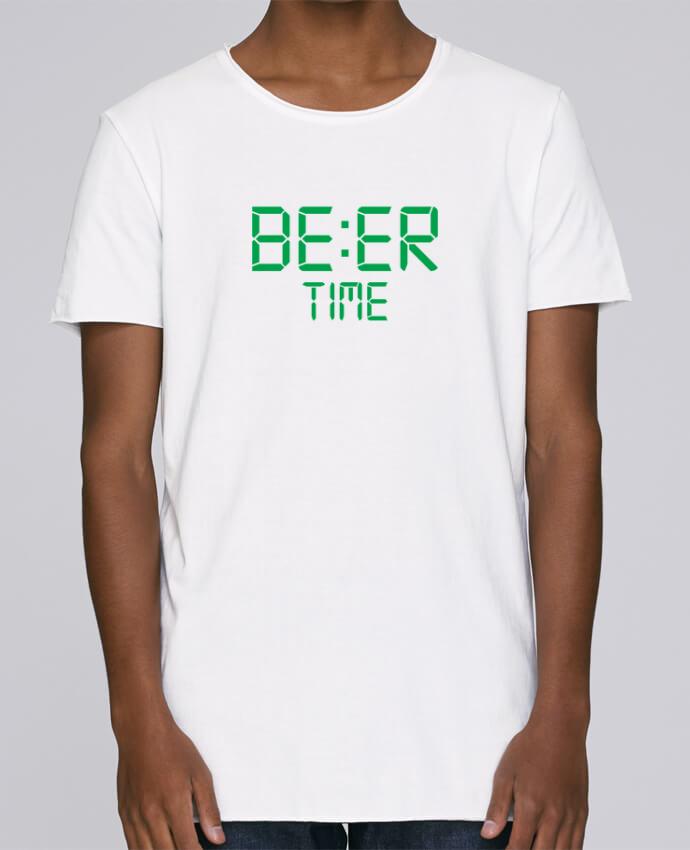 T-shirt Homme Oversized Stanley Skates Beer time par tunetoo