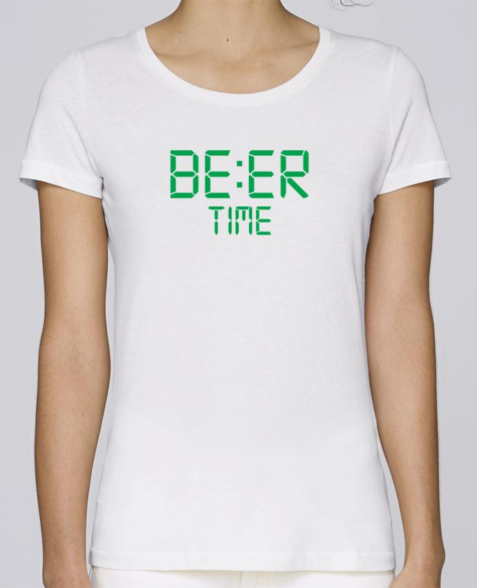 T-shirt Femme Stella Loves Beer time par tunetoo