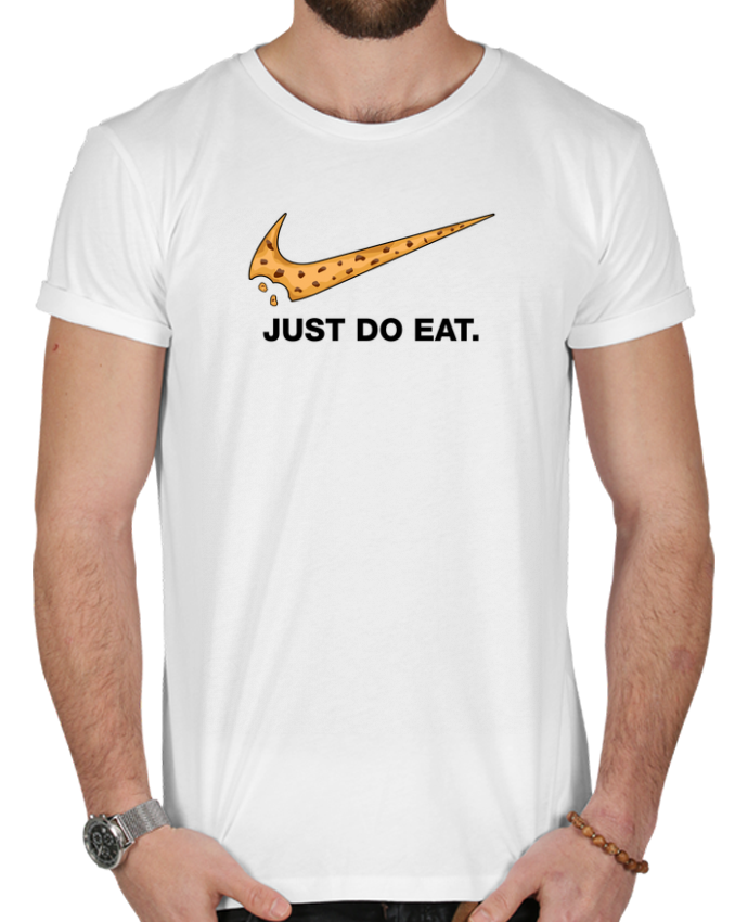 T-shirt  Homme 180g Just do eat par tunetoo