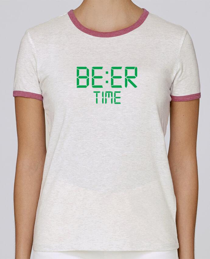 T-shirt Femme Stella Returns Beer time pour femme par tunetoo