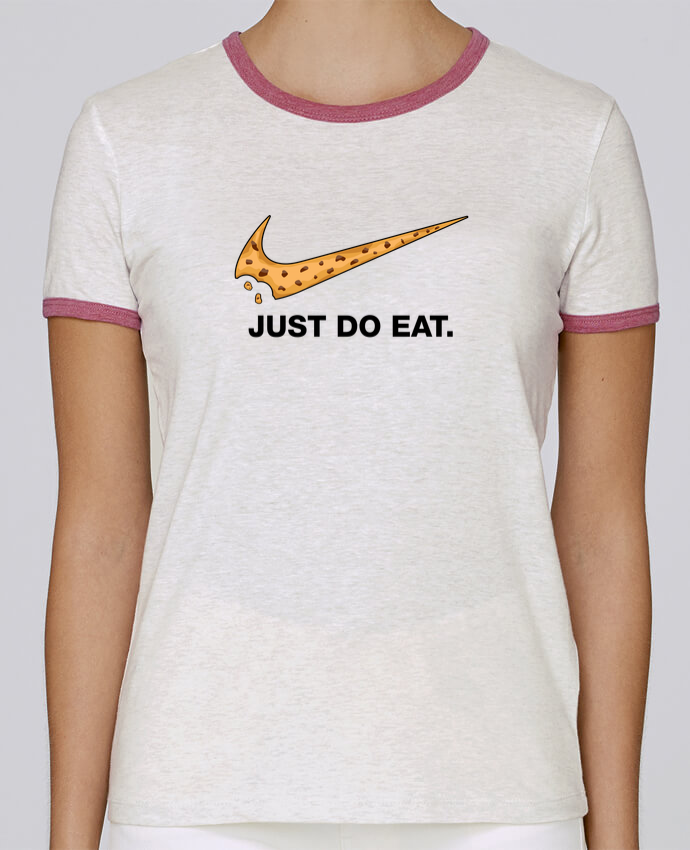T-shirt Femme Stella Returns Just do eat pour femme par tunetoo