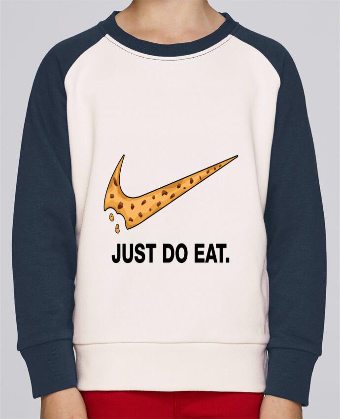 Sweat Shirt Col Rond Enfant Stanley Mini Contrast Just do eat par tunetoo