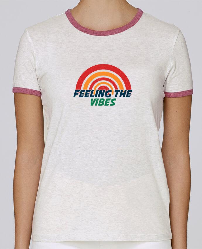 T-shirt Femme Stella Returns Feeling the vibes pour femme par tunetoo