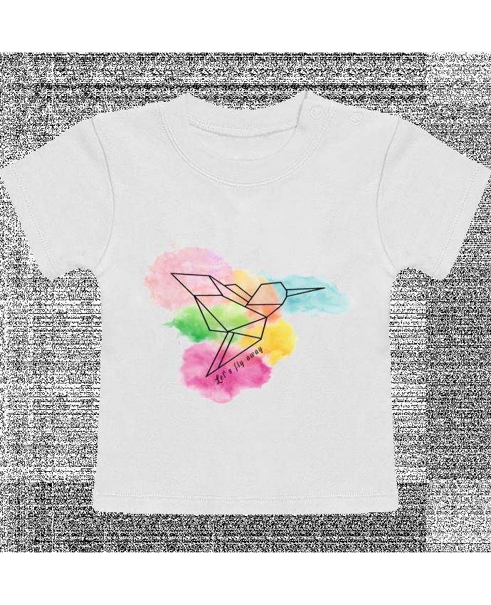 T-shirt bébé Let's fly away manches courtes du designer Cassiopia