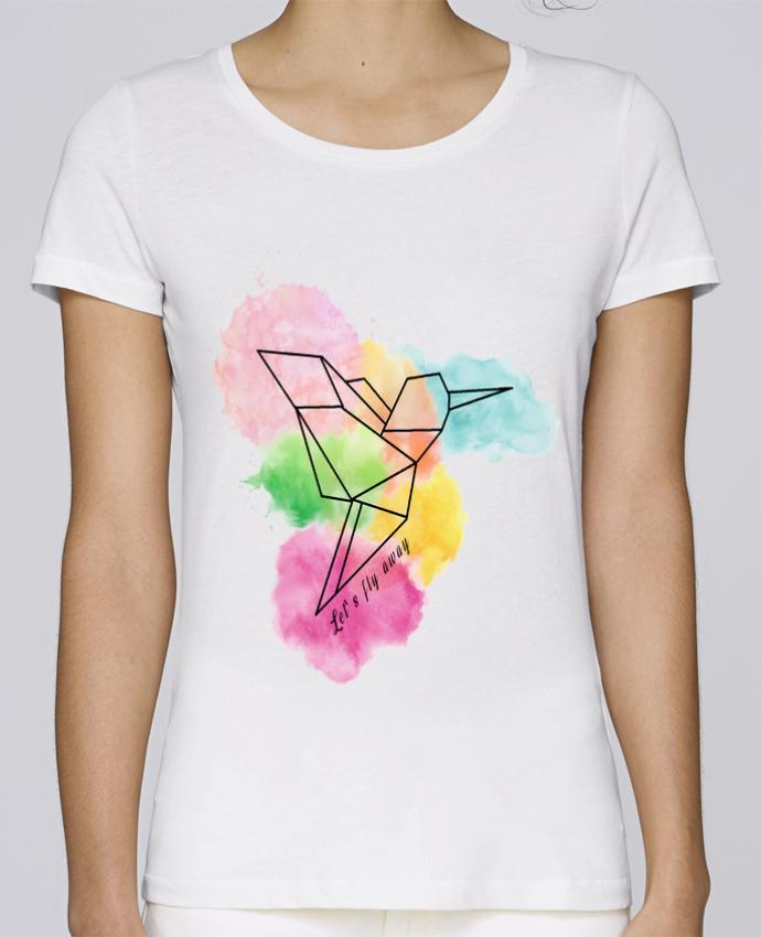T-shirt Femme Stella Loves Let's fly away par Cassiopia