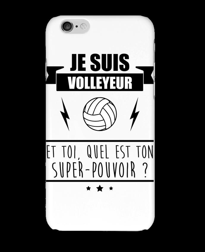 Coque 3D Iphone 6 Je suis volleyeur et toi, quel est ton super-pouvoir ? par Benichan