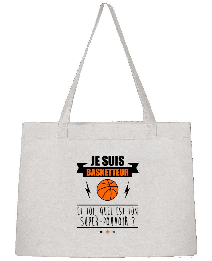 Sac Cabas Shopping Stanley Stella Je suis basketteur et toi, quel est ton super-pouvoir ? par Benichan