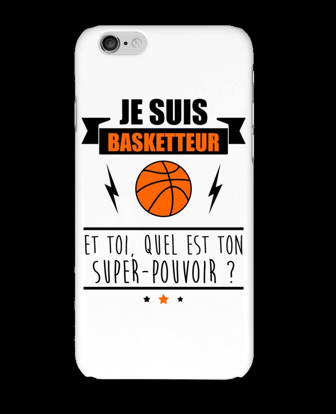 Coque 3D Iphone 6 Je suis basketteur et toi, quel est ton super-pouvoir ? par Benichan