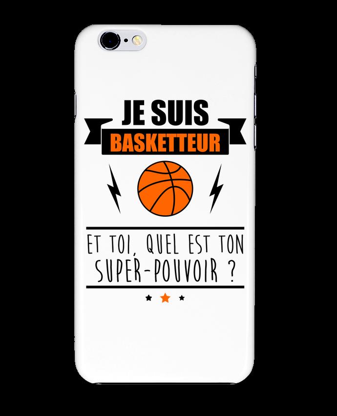 Coque 3D Iphone 6+ Je suis basketteur et toi, quel est ton super-pouvoir ? de Benichan
