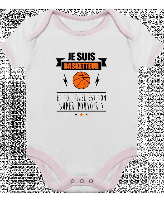 Body Bébé Contrasté Je suis basketteur et toi, quel est ton super-pouvoir ? par Benichan
