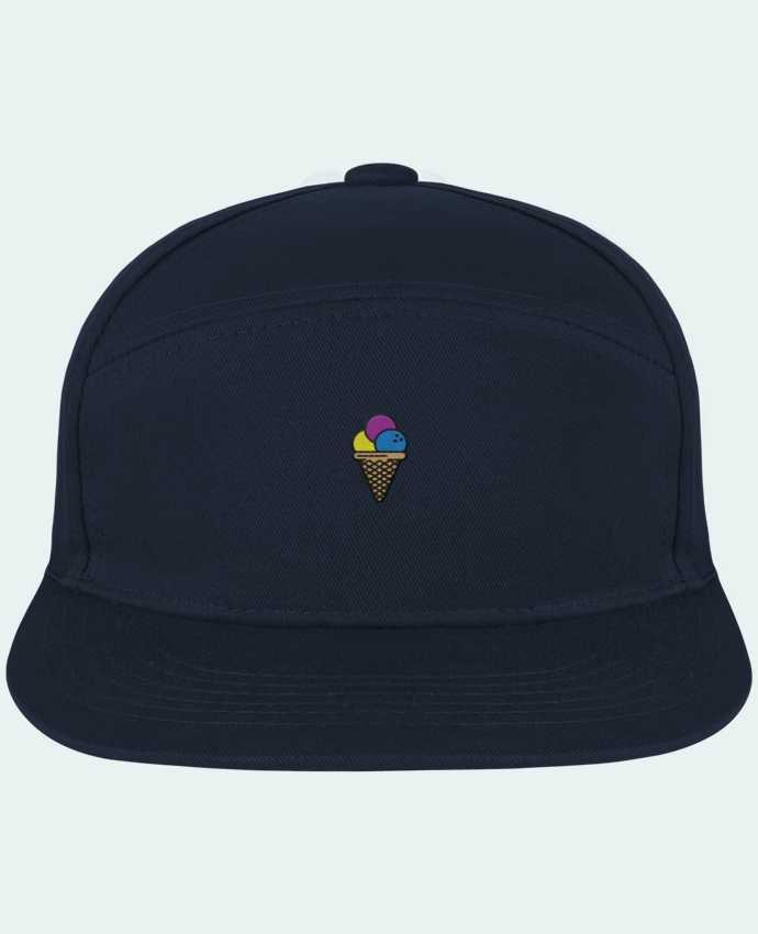 Casquette Snapback Pitcher Ice cream par tunetoo