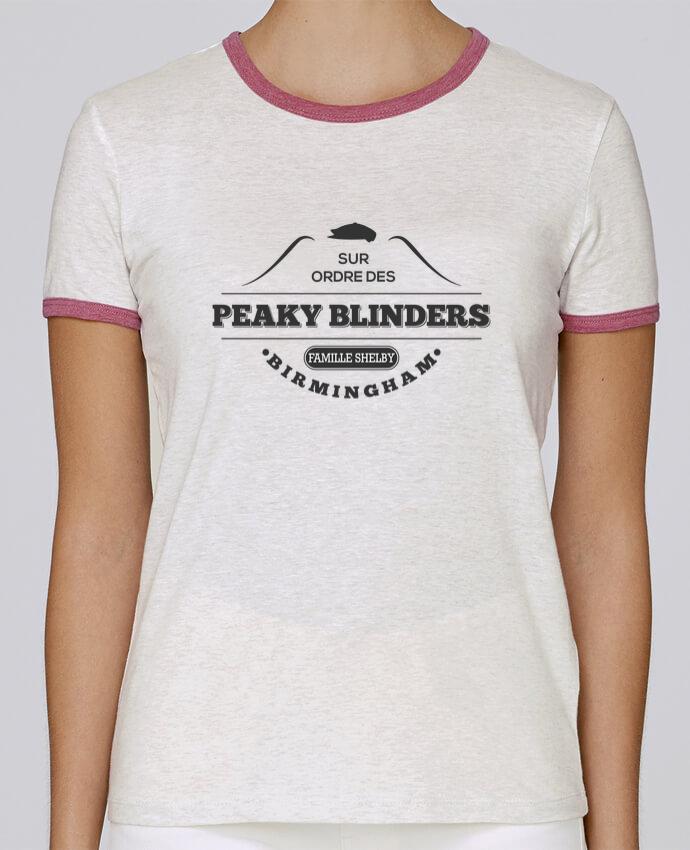 T-shirt Femme Stella Returns Sur ordre des Peaky Blinders pour femme par tunetoo