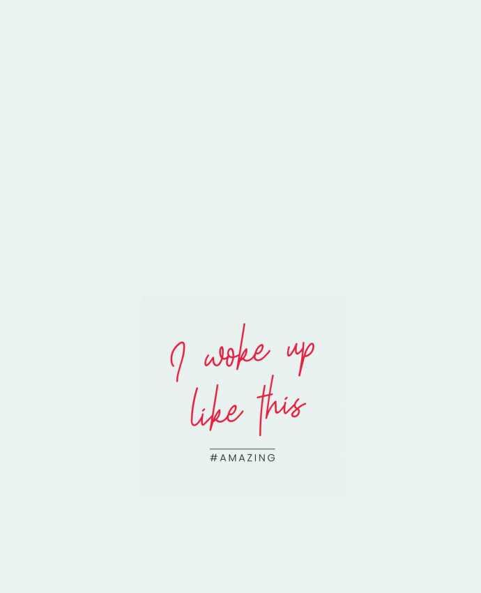 Sac en Toile Coton I woke up like this - Amazing par Folie douce