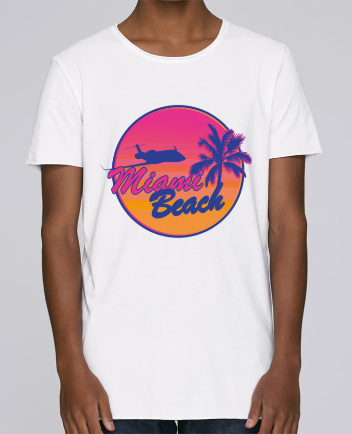 T-shirt Homme Oversized Stanley Skates miami beach par Revealyou