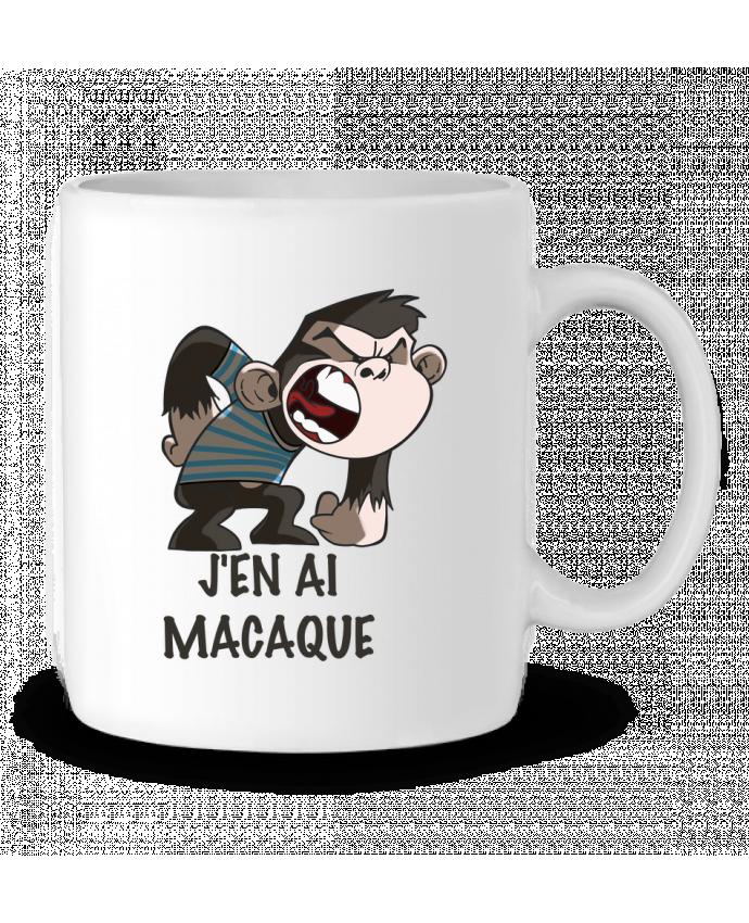 Mug en Céramique J'en ai macaque ! par Le Cartooniste