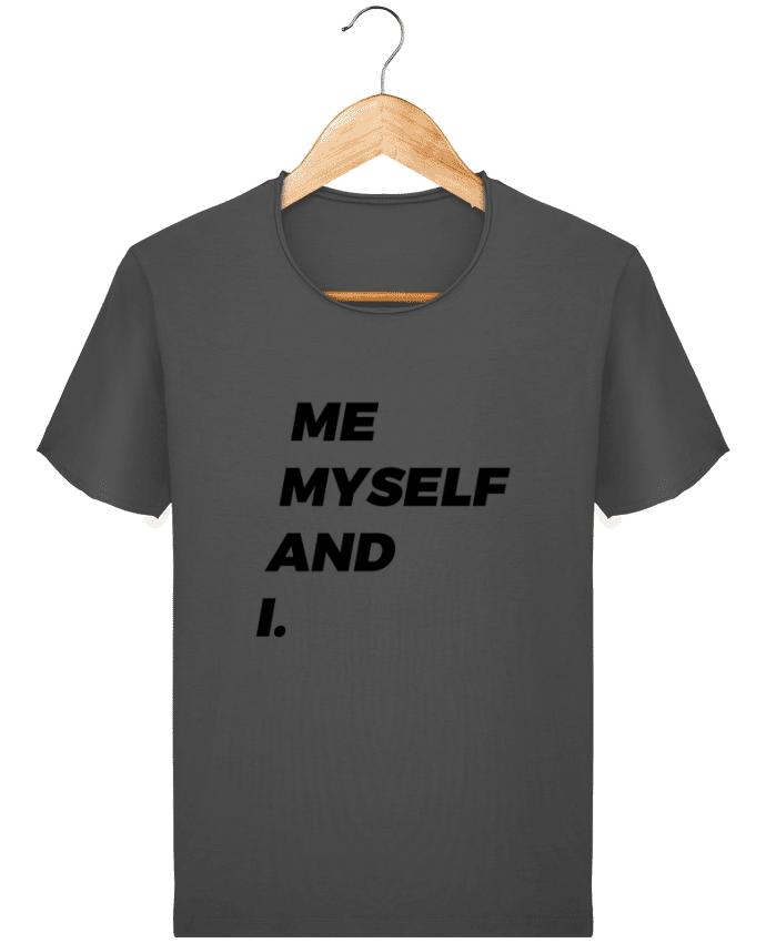 T-shirt Homme Stanley Imagines Vintage me myself and i. par tunetoo
