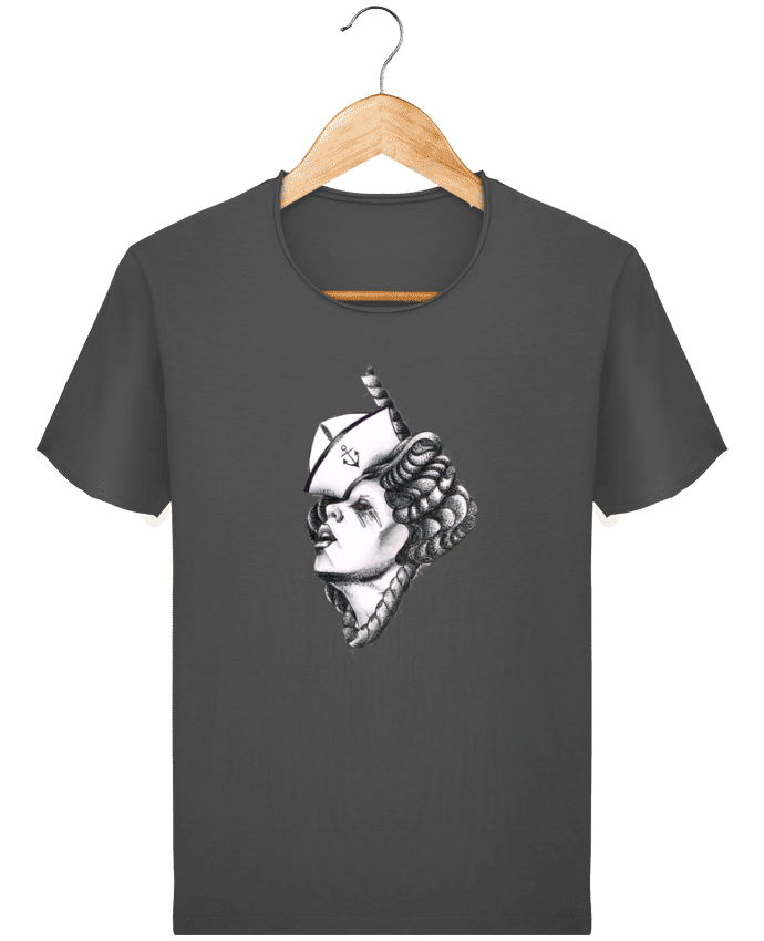 T-shirt Homme Stanley Imagines Vintage Femme capitaine par david