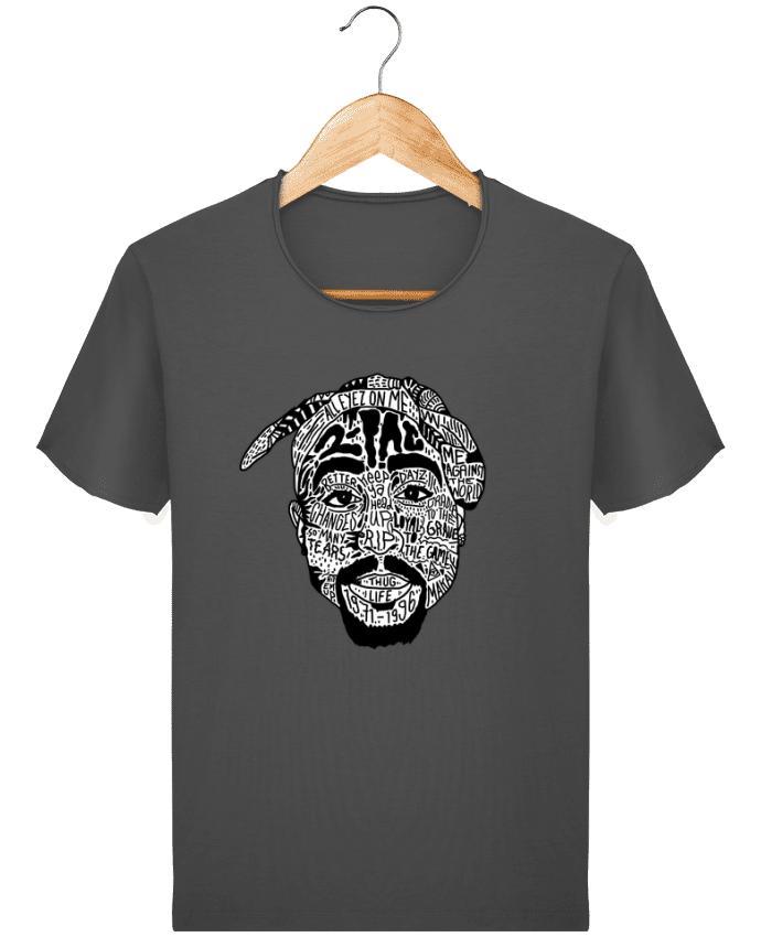T-shirt Homme Stanley Imagines Vintage Tupac par Nick cocozza