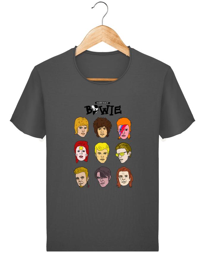 T-shirt Homme Stanley Imagines Vintage Bowie par Nick cocozza
