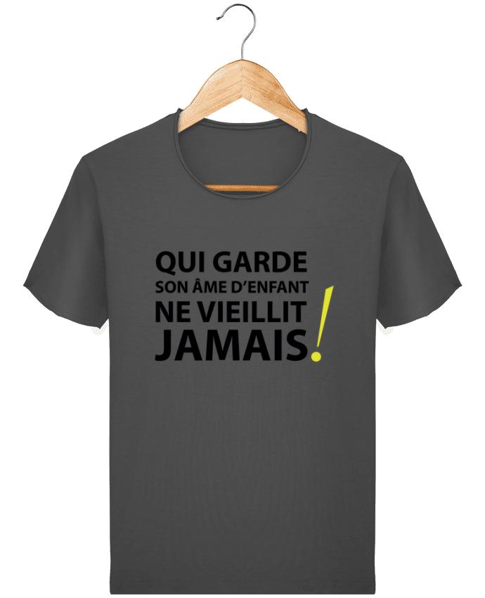 T-shirt Homme Stanley Imagines Vintage Qui garde son âme d'enfant ne vieillit jamais par LF Design