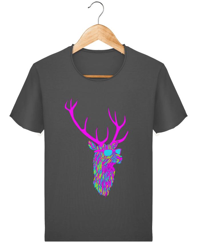 T-shirt Homme Stanley Imagines Vintage Party deer par robertfarkas