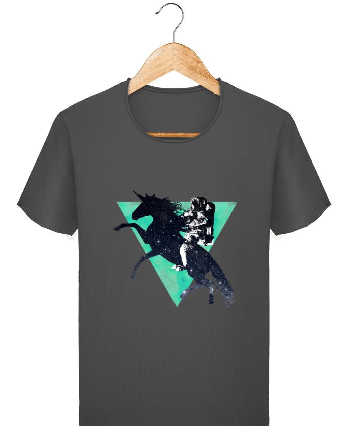 T-shirt Homme vintage Ride the universe par robertfarkas