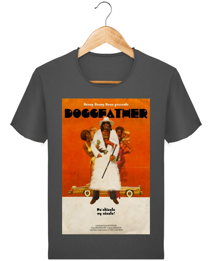 T-shirt Homme Stanley Imagines Vintage Doggfather par Ads Libitum