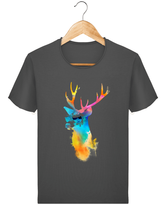 T-shirt Homme Stanley Imagines Vintage Sunny stag par robertfarkas