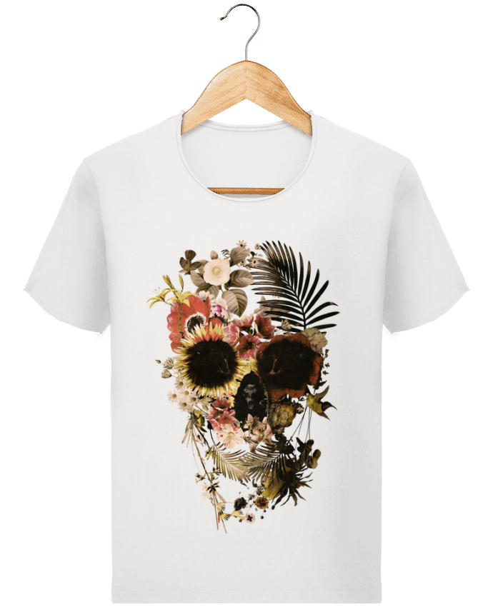 T-shirt Homme Stanley Imagines Vintage Garden Skull par ali_gulec