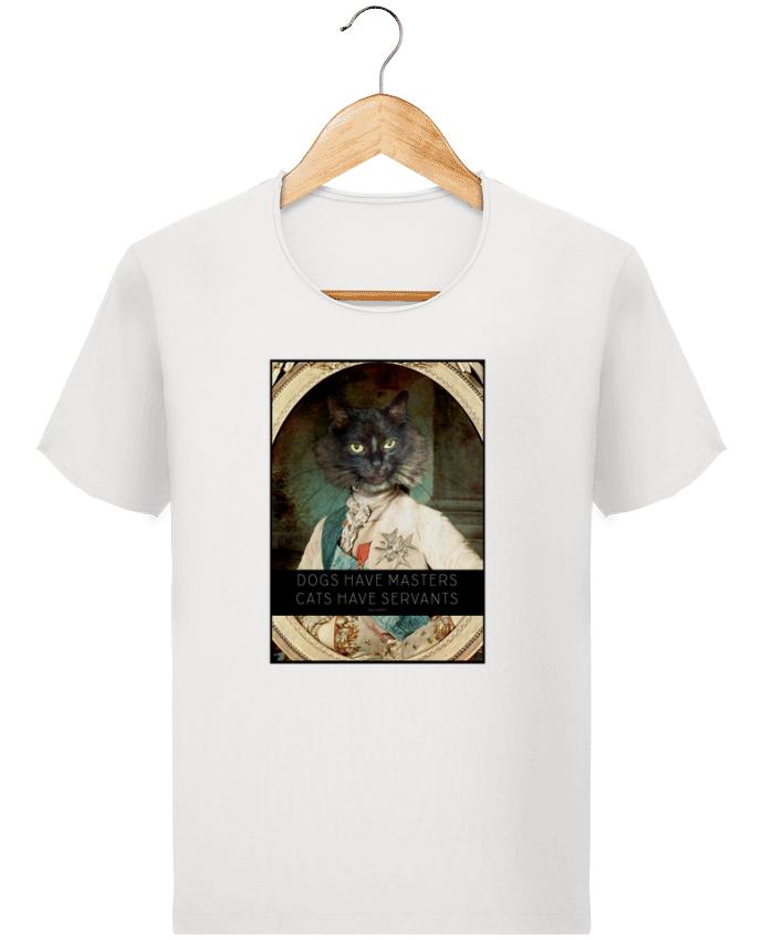 T-shirt Homme Stanley Imagines Vintage King Cat par Tchernobayle