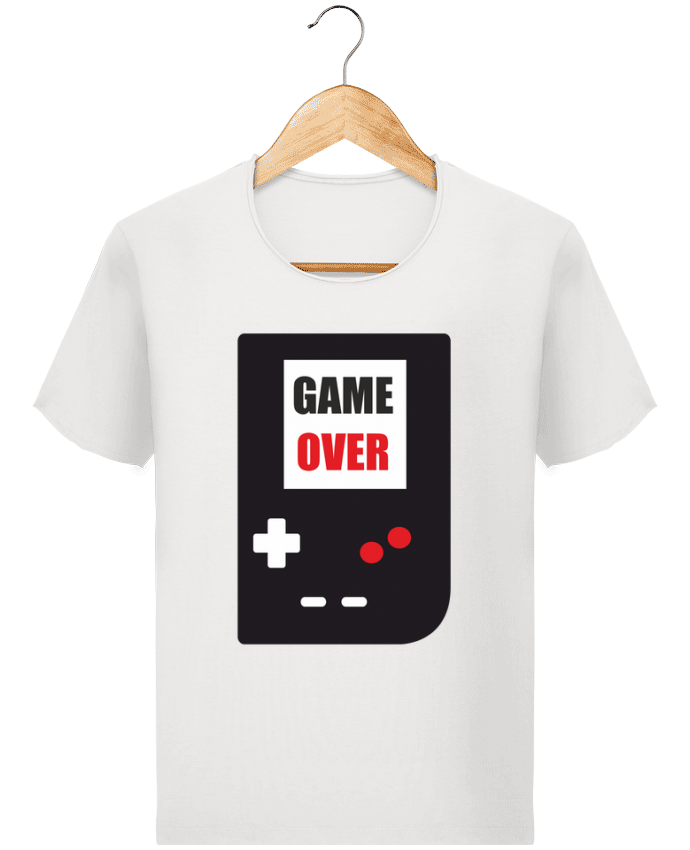 T-shirt Homme Stanley Imagines Vintage Game Over Console Game Boy par Benichan