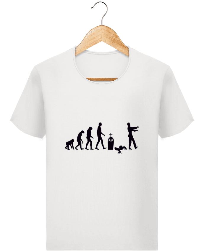 T-shirt Homme Stanley Imagines Vintage Zombie évolution par Benichan
