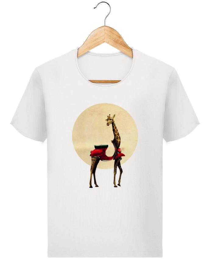 T-shirt Homme Stanley Imagines Vintage Giraffe par ali_gulec