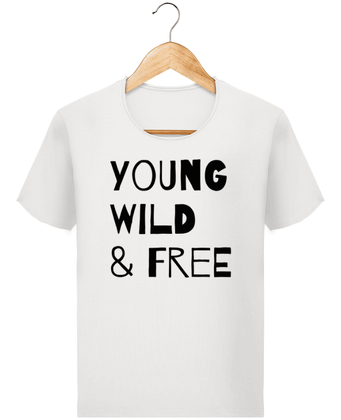 T-shirt Homme Stanley Imagines Vintage YOUNG, WILD, FREE par tunetoo