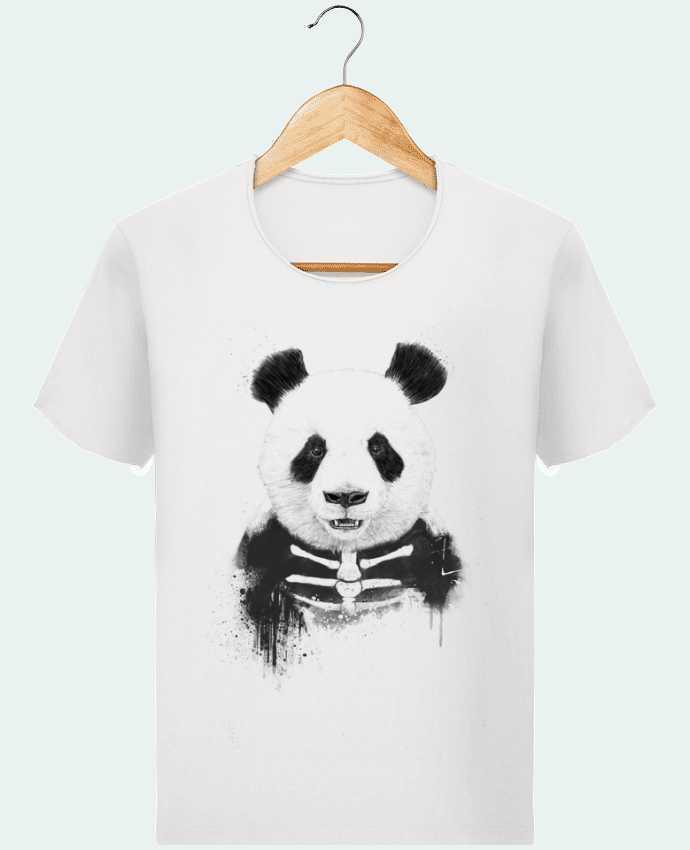 T-shirt Homme Stanley Imagines Vintage Zombie Panda par Balàzs Solti