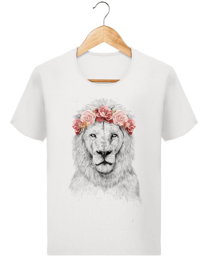 T-shirt Homme Stanley Imagines Vintage Festival Lion par Balàzs Solti