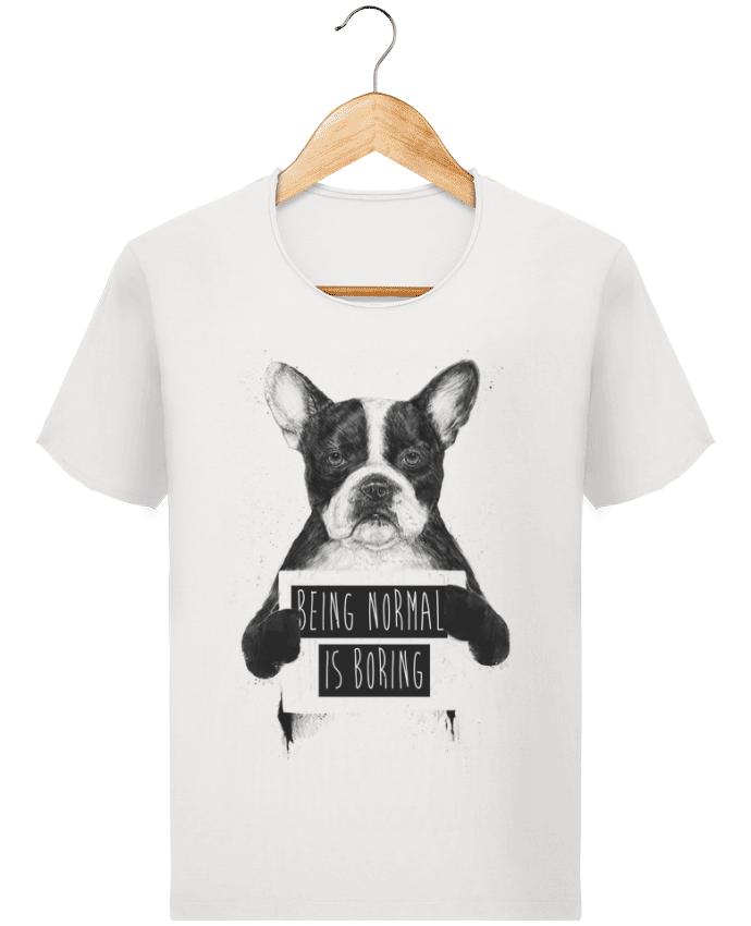 T-shirt Homme Stanley Imagines Vintage Being normal is boring par Balàzs Solti