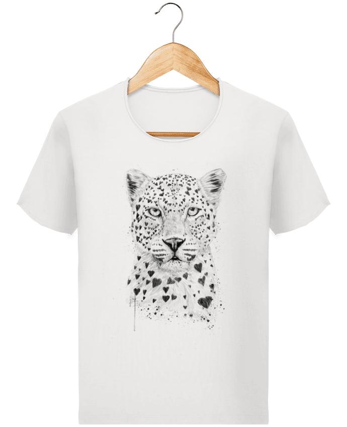 T-shirt Homme Stanley Imagines Vintage lovely_leopard par Balàzs Solti