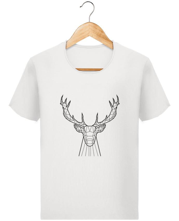 T-shirt Homme Stanley Imagines Vintage cerf animal prism par Yorkmout