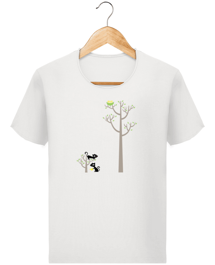 T-shirt Homme Stanley Imagines Vintage Growing a plant for Lunch par flyingmouse365