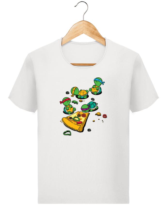 T-shirt Homme Stanley Imagines Vintage Pizza lover par flyingmouse365