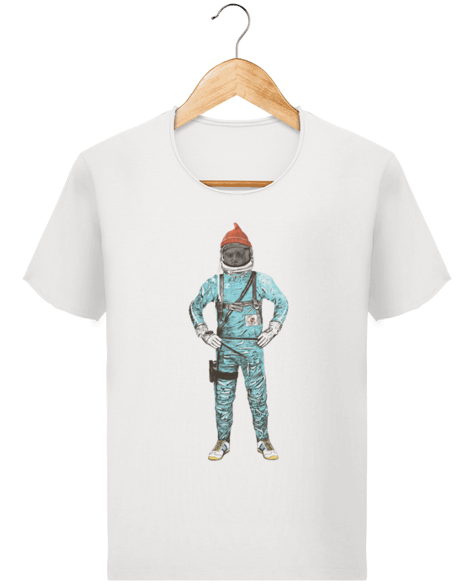 T-shirt Homme Stanley Imagines Vintage Zissou in space par Florent Bodart