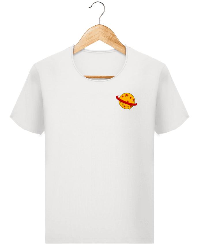 T-shirt Homme Stanley Imagines Vintage Planète Pizza par WBang