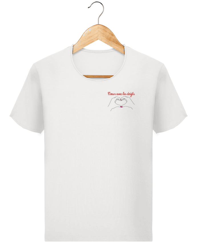T-shirt Homme Stanley Imagines Vintage Coeur avec les doigts par WBang