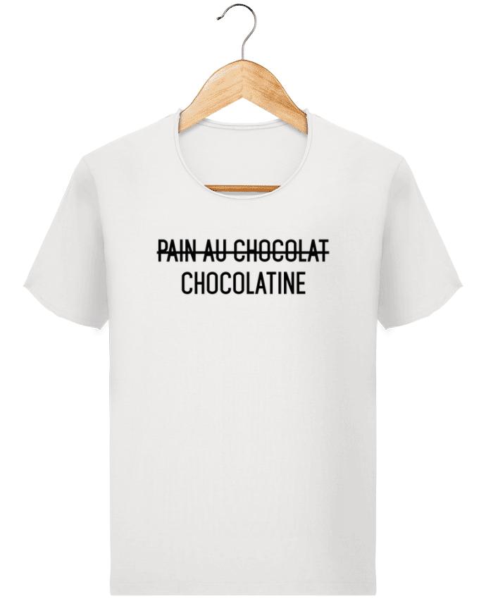 T-shirt Homme Stanley Imagines Vintage Chocolatine par tunetoo