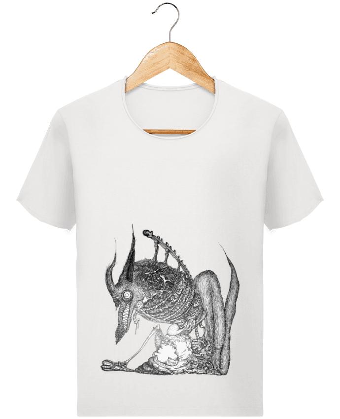 T-shirt Homme Stanley Imagines Vintage Loup par Goulg