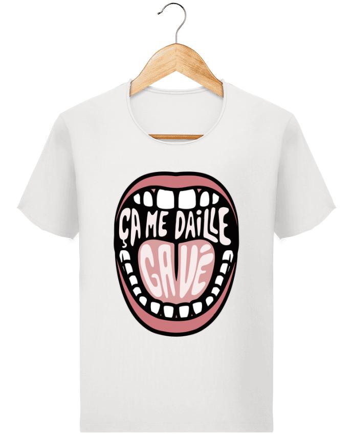 T-shirt Homme Stanley Imagines Vintage ça me daille gavé bouche par tunetoo